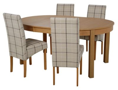 Buy Collection Massey Dining Table amp 4 Chairs Wood Effect  : 4028899RSETTMBampwid620amphei620 from www.argos.co.uk size 620 x 620 jpeg 30kB