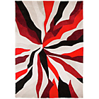 more details on Starburst Red Rug - 80 x 150cm.