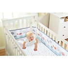 more details on BreathableBaby 2 Cot Bed Sheets - Enchanted Forest.