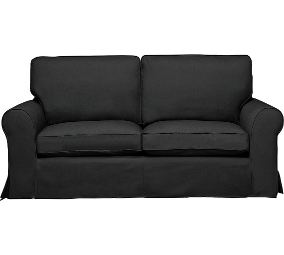 buy home charlotte 3 seater fabric sofa w t loose cover