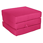 more details on ColourMatch Single Mattress Cube - Funky Fuchsia.