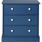 more details on Stowe 3 Drawer Chest - Blue