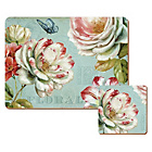 more details on Romantic Garden Set of 6 Placemats and Coasters.
