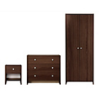 more details on Seville 3 Piece 2 Door Wardrobe Package - Wenge.