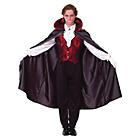 more details on Mens Gothic Vampire Costume Size L