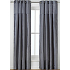 more details on Heart Of House Colette Eyelet Curtains 117 x183cm- Dove Grey