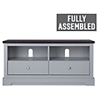 more details on Heart of House Westbury 2 Drawer TV Unit - Grey.