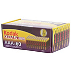 more details on Kodak Xtralife AAA Battery - 60 Pack