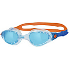 more details on Zoggs Phantom Elite Blue/Orange Goggles - Adults.