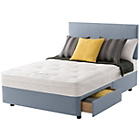 more details on Layezee Calm Ortho Micro Quilt Kingsize 2 Drawer Divan Bed.