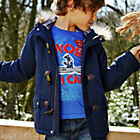 more details on Cherokee Boys' Navy Parka - 11-12 Years.