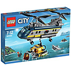 more details on LEGO City Deep Sea Helicopter - 60093.