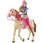more details on Barbie Saddle 'N' Ride Horse Playset.