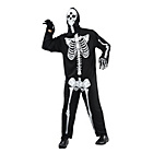 more details on Skeleton Jumpsuit Costume - Size UK44.