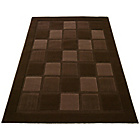 more details on Verona Blocks Rug - 120x170cm - Chocolate.