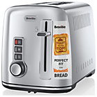 Breville 2 Slice S/Steel Perfect for Warburtons Toaster