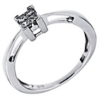 more details on 9ct White Gold 0.15 Diamond Princess Cut Ring.