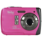 more details on Vivitar 12MP Waterproof Digital Camera - Pink
