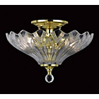 more details on Dallas Glass 2 Bulb Light Fitting - Polished Brass.