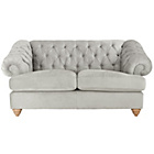 more details on Heart of House Somerton Regular Fabric Sofa - Silver.