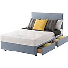more details on Layezee Calm Ortho Micro Quilt Kingsize 4 Drawer Divan Bed.