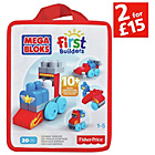 more details on Mega Bloks First Builders Build 'N' Learn Bags.