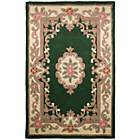 more details on Empire Bottle Green Rug - 75 x 150cm.