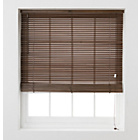 more details on Wooden Venetian Blinds 180 x160cm - Walnut.