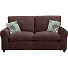 more details on Tabitha Large Fabric Sofa - Chocolate.