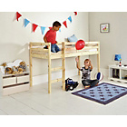 more details on Kaycie Mid Sleeper Shorty Bed Frame - Pine.