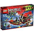more details on LEGO Ninjango Final Flight of Destiny's Bounty - 70738.