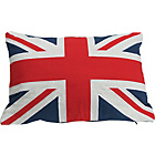 more details on Flag Cushion - Red and Blue.