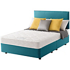 more details on Layezee Calm Micro Quilt Small Double Teal Divan Bed.