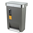 more details on simplehuman 45L Liner Pocket Pedal Bin - Grey.