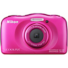 more details on Nikon Coolpix S33 13MP Tough Camera - Pink.
