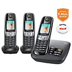 more details on Gigaset C620A Cordless Telephone Answer Machine - Trio.