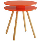 more details on Habitat Willa Side Table - Orange Red.
