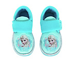 more details on Disney Frozen Girls' Blue Slippers - Size 9.