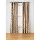 more details on Heart of House Felicity Lined Eyelet Curtains - Natural.
