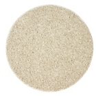 more details on Circular Shaggy Rug 100 x 100cm - Cream.