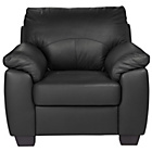 more details on HOME New Logan Leather Chair - Black.