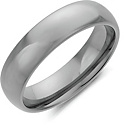 more details on Men's Tungsten 7mm Polished Band Ring.