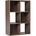 more details on HOME Squares 6 Cube Unit - Walnut.