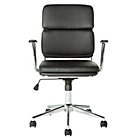 more details on Melbourne Gas Lift Adjustable Office Chair - Black.