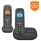 more details on Gigaset A550A Cordless Telephone with Answer Machine - Twin.