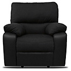 more details on Hudson Fabric Recliner Chair - Black.