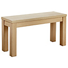 more details on Siena Dining Bench - Limed Oak Effect.