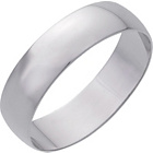 more details on 9ct White Gold 5mm D-Shape Wedding Ring.
