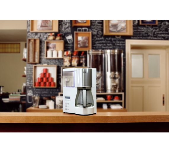 How To Use Optima Coffee Maker : Buy Melitta Optima Timer Filter Coffee Machine - White at Argos.co.uk - Your Online Shop for ...