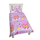 more details on Peppa Pig Puddles Rotary Bedding Set - Single.